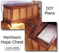 Free heirloom hope chest plans