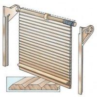 Tambour Door Hardware Kit  sc 1 st  Exotic u0026 Domestic Wood | Craft Lumber for Sale & Tambour Door Hardware Kit ~ Build Your Own Rolltop Desk pezcame.com